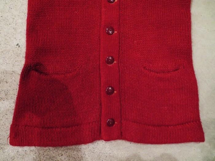 40\'s Shawl Collar Sweater Coat_e0187362_19460060.jpg