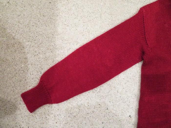 40\'s Shawl Collar Sweater Coat_e0187362_19470870.jpg