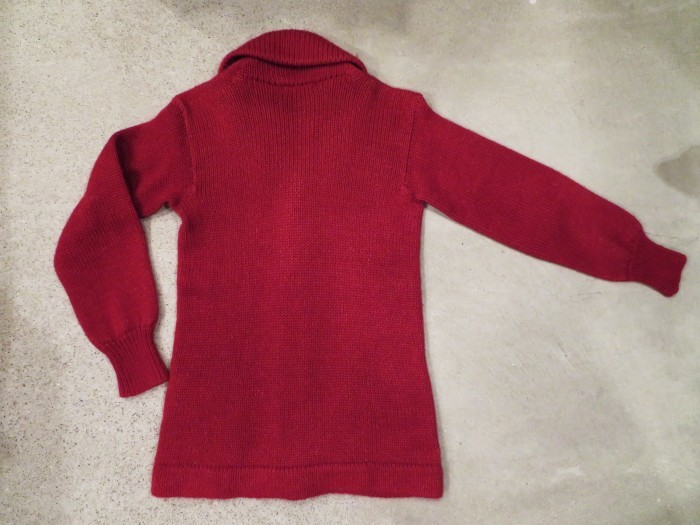 40\'s Shawl Collar Sweater Coat_e0187362_19474202.jpg