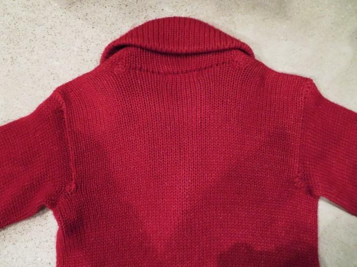 40\'s Shawl Collar Sweater Coat_e0187362_19480097.jpg