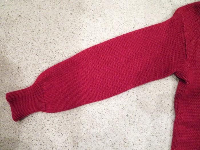 40\'s Shawl Collar Sweater Coat_e0187362_19503446.jpg