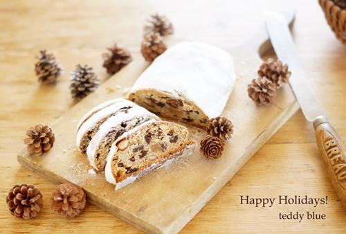 Happy Holiday Stollen  ホリデーはやっぱりシュトーレン_e0253364_16443695.jpg