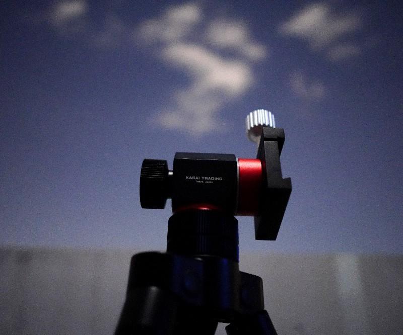 旅行用望遠鏡を考える(6) Kasai AZ-Palm経緯台+13cm反射_a0095470_22145398.jpg