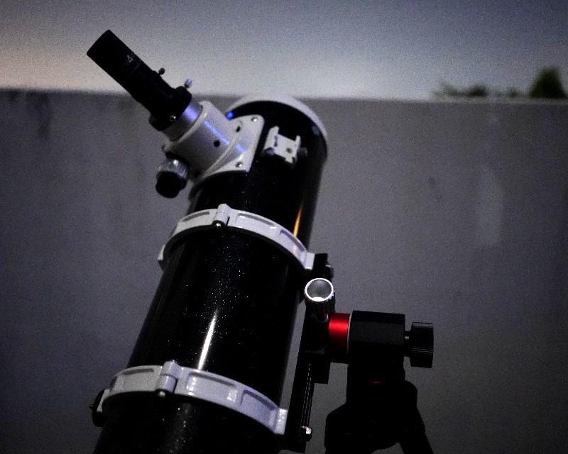 旅行用望遠鏡を考える(6) Kasai AZ-Palm経緯台+13cm反射_a0095470_22152719.jpg