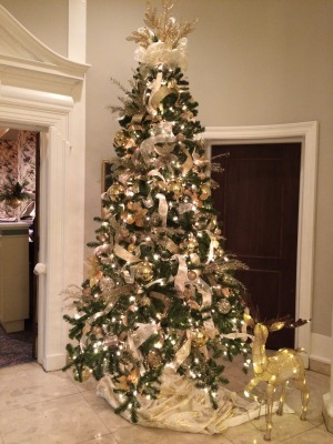 ホテルのクリスマス・ツリー_c0353373_23534644.jpg