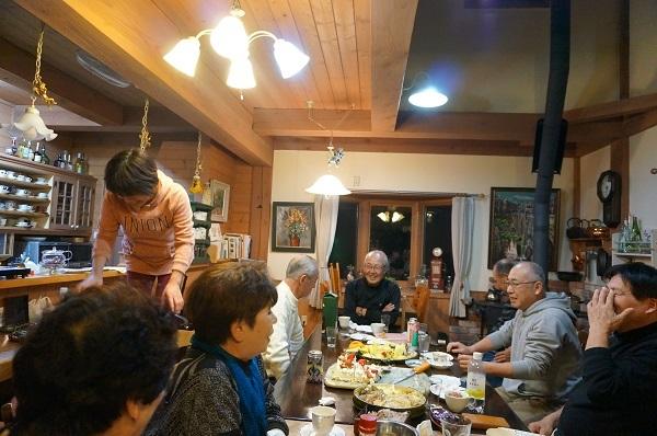 ご近所さんと鍋パーティー_e0365880_22010952.jpg