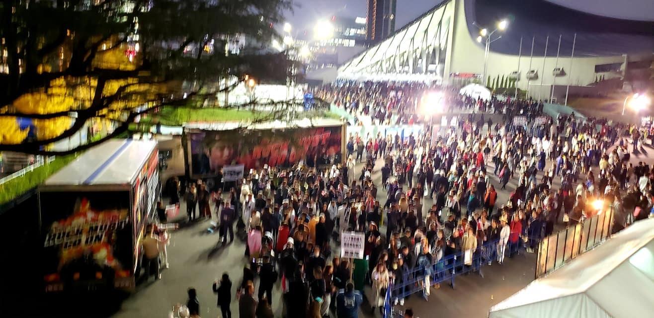 恒例の東京最終日、代々木第一体育館、矢沢永吉コンサート!_c0186691_15471115.jpg