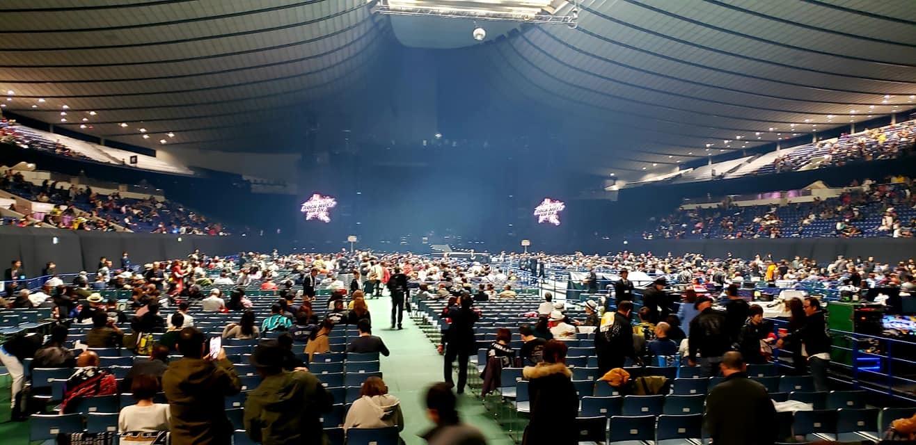 恒例の東京最終日、代々木第一体育館、矢沢永吉コンサート!_c0186691_15473286.jpg