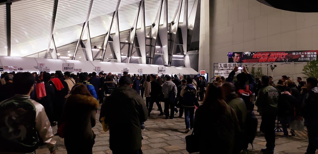恒例の東京最終日、代々木第一体育館、矢沢永吉コンサート!_c0186691_15480002.jpg