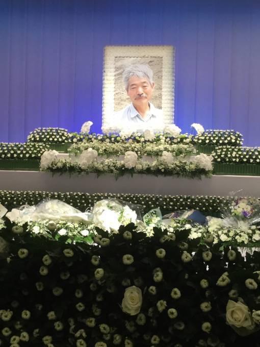 中村晢の葬儀_d0016397_09474748.jpg