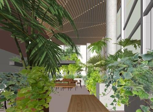 札幌の棟晶の新社屋のホールのイメージ固め_e0054299_11051292.jpg
