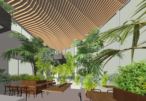 札幌の棟晶の新社屋のホールのイメージ固め_e0054299_11052791.jpg