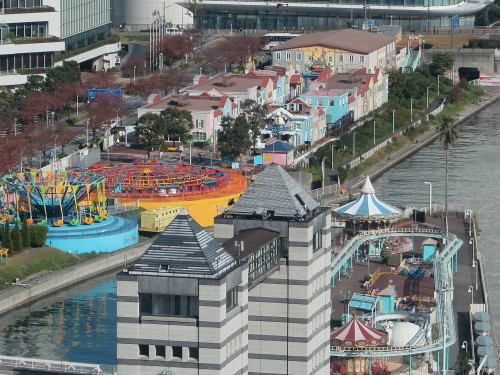 ニューオータニイン横浜プレミアム1809号室からの風景_c0075701_06433856.jpg