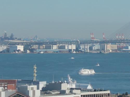 ニューオータニイン横浜プレミアム1809号室からの風景_c0075701_06435065.jpg