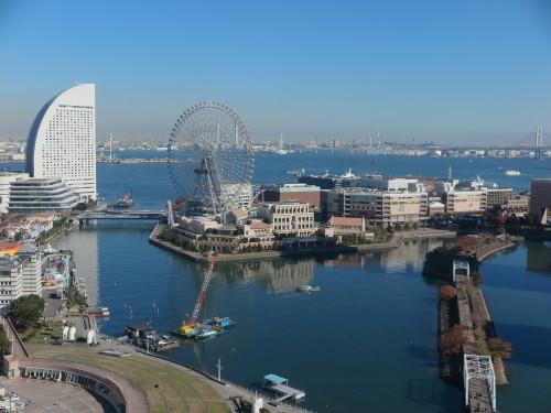 ニューオータニイン横浜プレミアム1809号室からの風景_c0075701_06435718.jpg