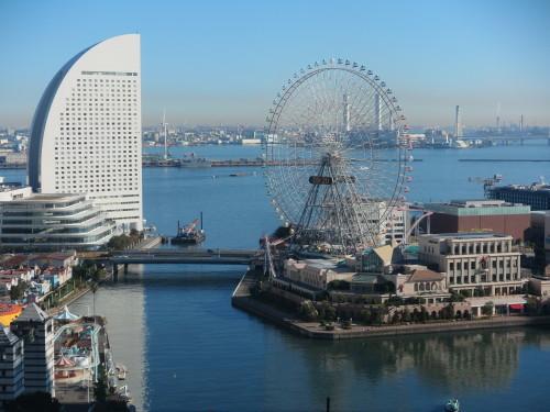 ニューオータニイン横浜プレミアム1809号室からの風景_c0075701_06442401.jpg