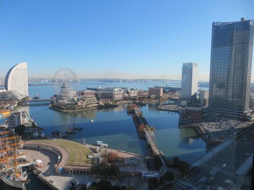 ニューオータニイン横浜プレミアム1809号室からの風景_c0075701_06444330.jpg