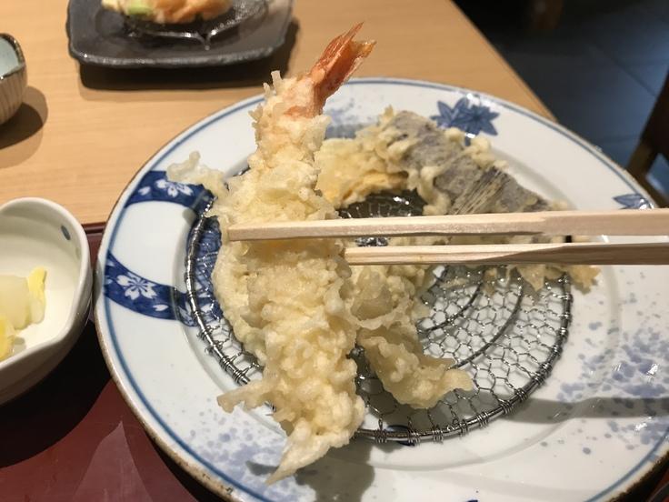 天ぷら天喜代(東京駅グランルーフ)_c0212604_14292335.jpg