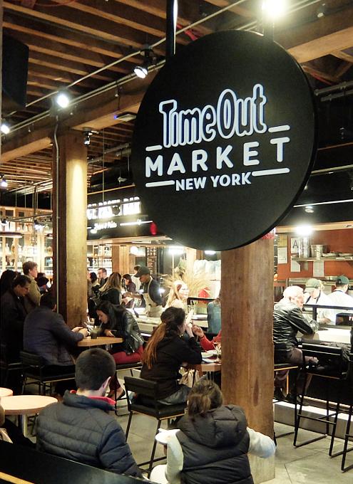 タイムアウト・マーケット(TimeOut Market)の内部の様子_b0007805_08384162.jpg