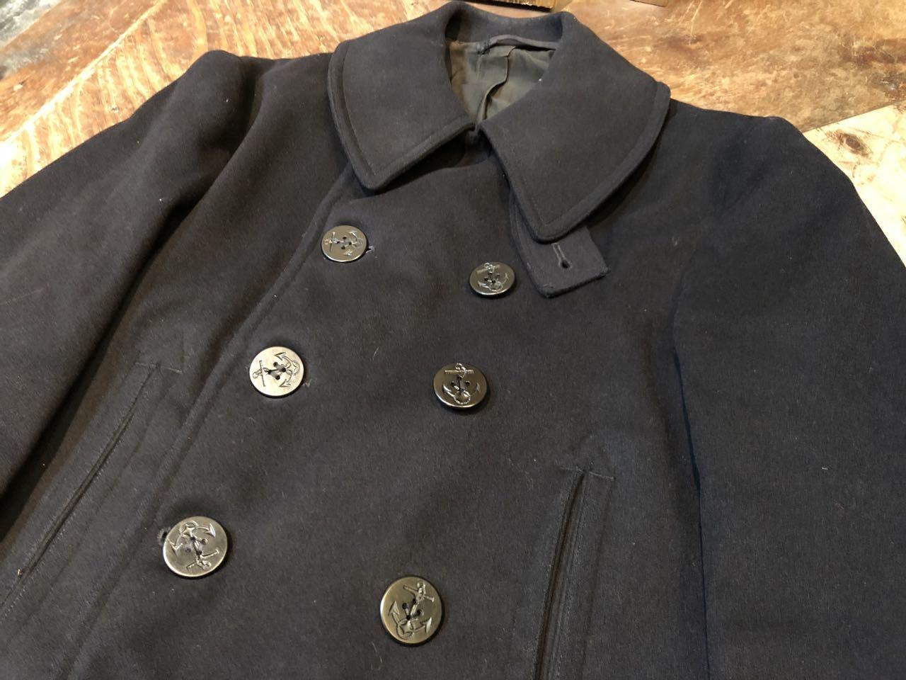 12月14日(土)入荷!U.S NAVY 40s WWⅡ 10ボタン P-COAT  Pコート!_c0144020_14133924.jpg