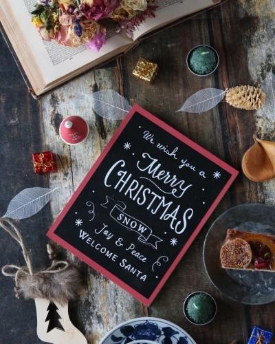 クリスマス気分でティータイム_c0366722_09483043.jpeg