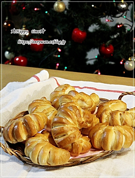 豚の生姜焼き弁当とハムマヨパンとクリスマスネイル♪_f0348032_17060743.jpg