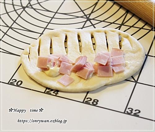 豚の生姜焼き弁当とハムマヨパンとクリスマスネイル♪_f0348032_17062162.jpg