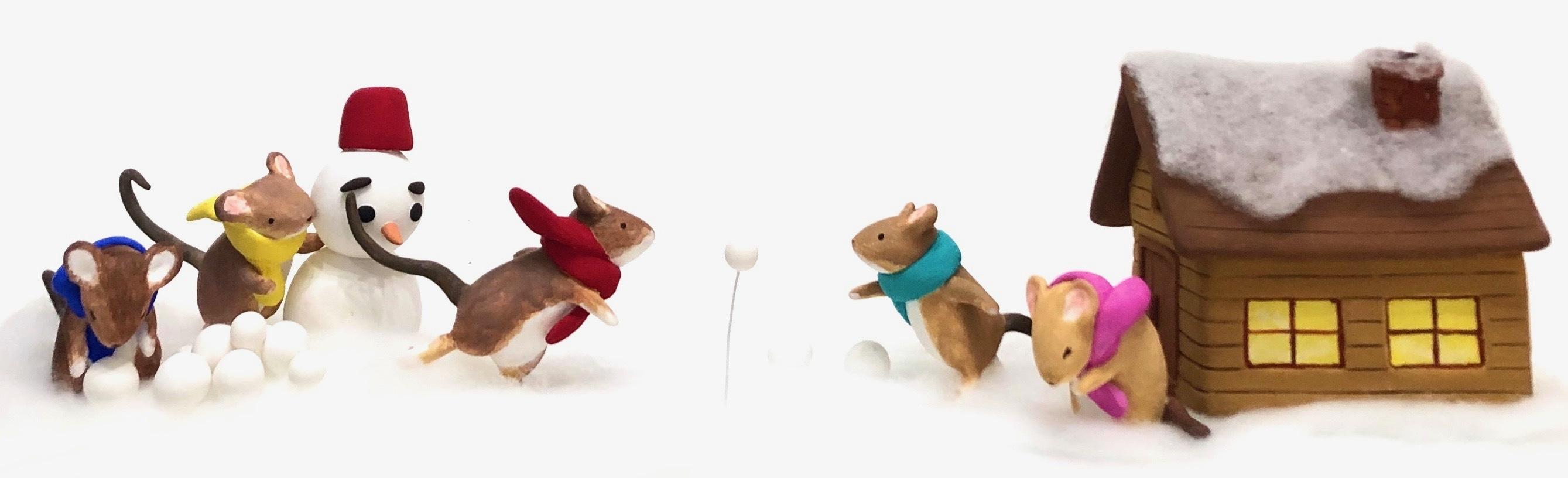 ネズミの雪合戦_f0395434_21364069.jpeg