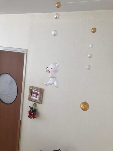 産婦人科病院のディスプレイ 冬ごもり_f0395434_22144839.jpeg
