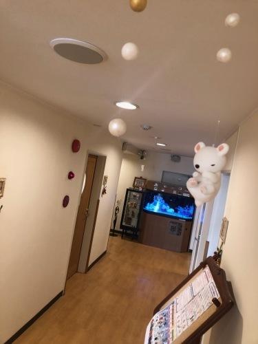 産婦人科病院のディスプレイ 冬ごもり_f0395434_22151953.jpeg