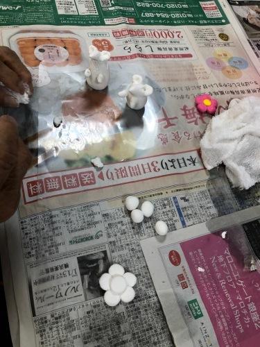 粘土工作教室 干支のネズミ_f0395434_22373724.jpeg