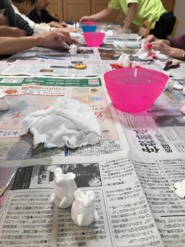 粘土工作教室 干支のネズミ_f0395434_22375121.jpeg