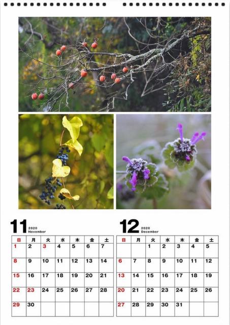 2020年 カレンダー作り_d0152544_08182667.jpg