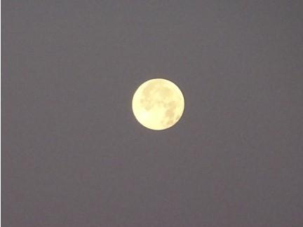 明け方の満月_f0089748_18455184.jpg
