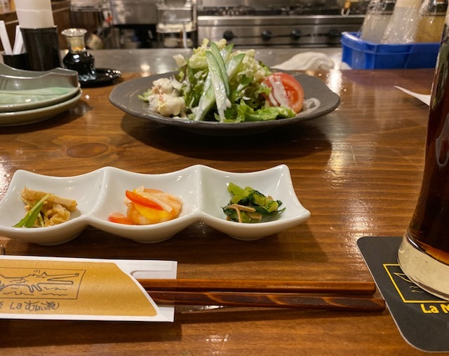 Dining  bar  「 婚約おめでとう~!」の乾杯♪_a0165160_20531203.jpg