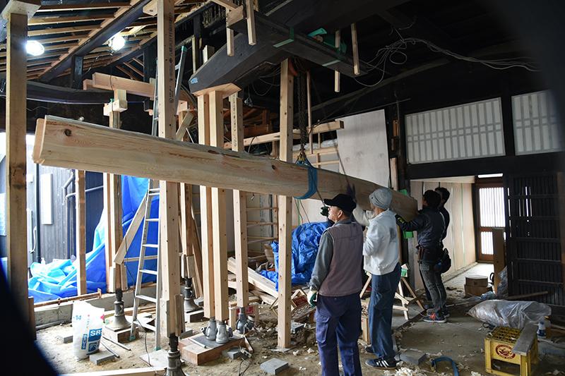 茨木の古民家再生工事_e0164563_13385982.jpg
