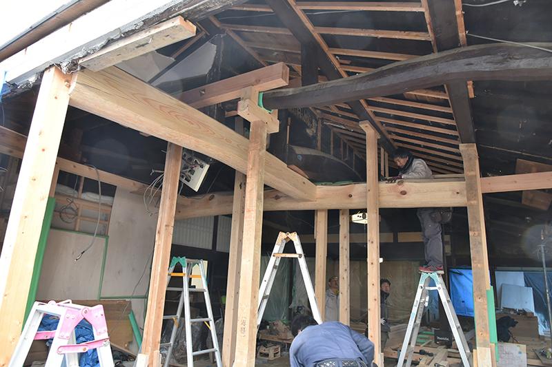 茨木の古民家再生工事_e0164563_13385986.jpg