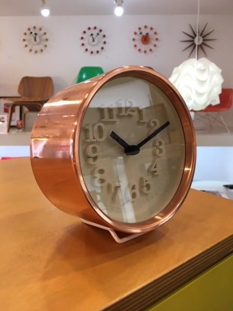 2019 X'mas GIFT Vol.7...渡辺力がもっとも愛する金属であった銅を用いた時計の名作。_b0125570_16023341.jpg