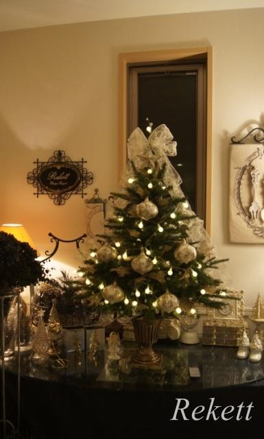 お客様オーダーレケットオリジナルクリスマスツリー~❤_f0029571_17365001.jpg