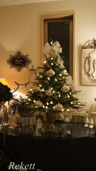 お客様オーダーレケットオリジナルクリスマスツリー~❤_f0029571_17375387.jpg