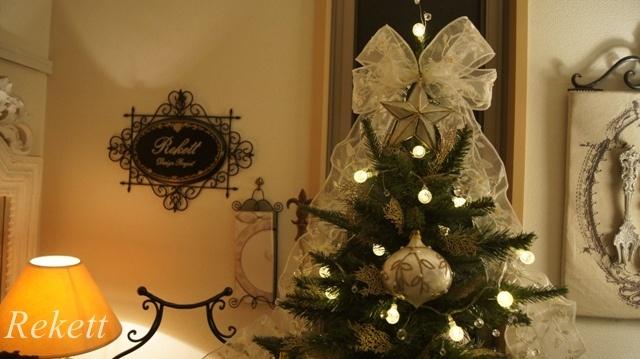お客様オーダーレケットオリジナルクリスマスツリー~❤_f0029571_17424875.jpg