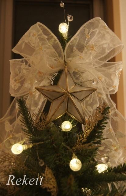 お客様オーダーレケットオリジナルクリスマスツリー~❤_f0029571_17504575.jpg