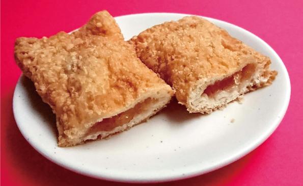 【袋ドーナツ】山崎製パン「フライドアップルパイ」【アレとそっくり】_d0272182_16275400.jpg