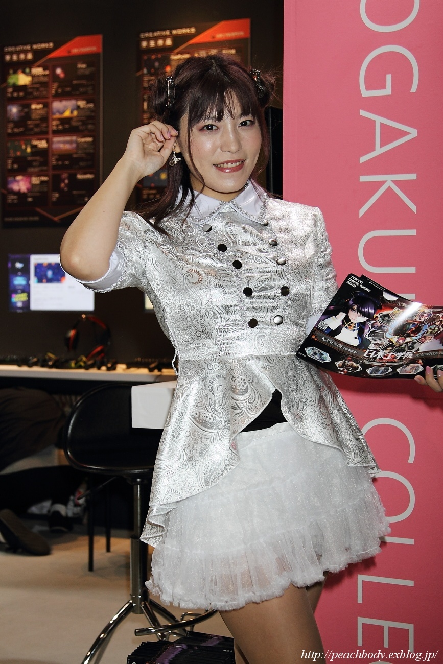 Reina さん(日本工学院/東京工科大学 ブース)_c0215885_00572493.jpg