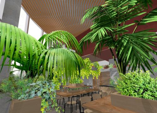 札幌の棟晶の新社屋のホールのイメージ固め_e0054299_09075194.jpg