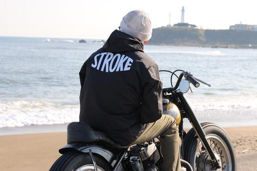 """STROKE. \""""OVAL LOGO HOOD JACKET\""""_d0101000_11214915.jpg"""
