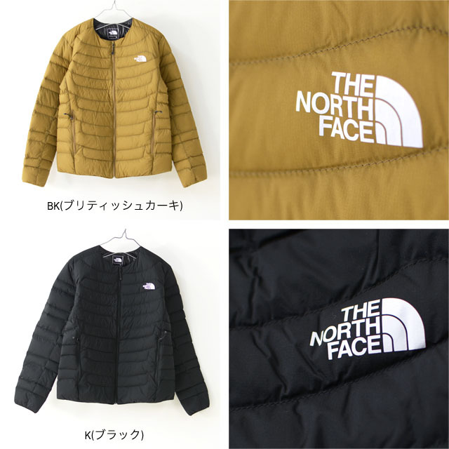 THE NORTH FACE [ザ ノースフェイス正規代理店] Thunder Roudneck Jacket [NYW81915] アウター・ダウンジャケット・LADY\'S _f0051306_13362401.jpg