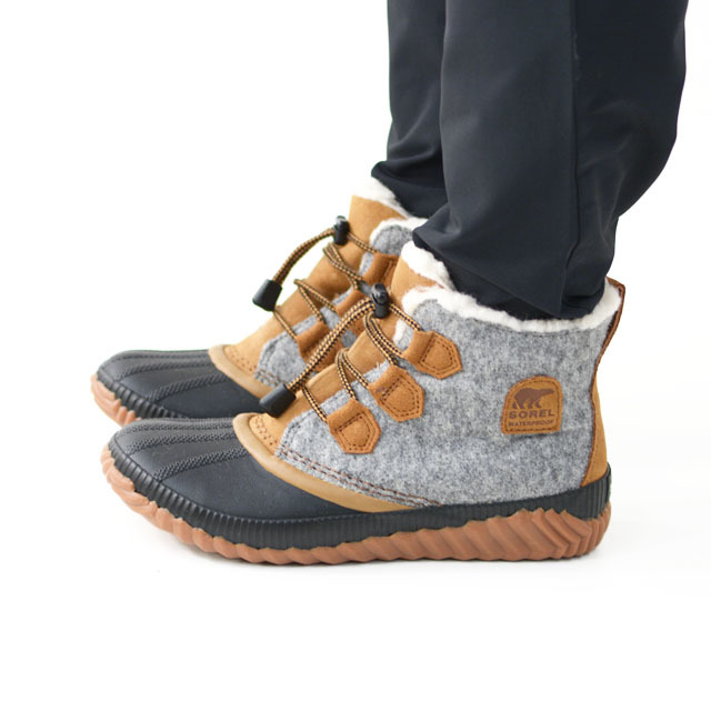 SOREL [ソレル正規代理店] Youth Out N About Plus [NY1954]  スノーブーツ・ウィンターブーツ・女性用・雪・LADY\'S _f0051306_16103586.jpg