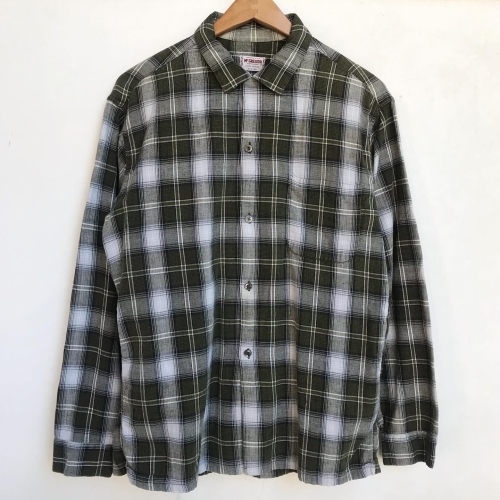 〜Early60\'s Green Check Flannel Box Loop Shirts✨_a0182112_12191203.jpg