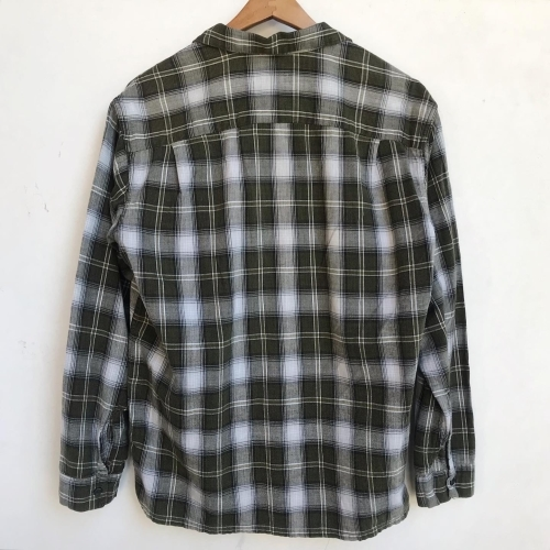 〜Early60\'s Green Check Flannel Box Loop Shirts✨_a0182112_12225266.jpg
